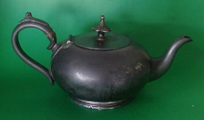 248 高級英格蘭鍍銀壺 antique kettle teapot tea pot
