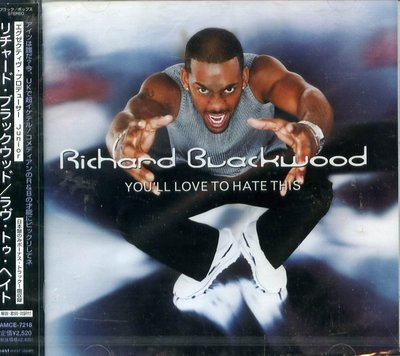 K - Richard Blackwood You'll Love to Hate This - 日版 - NEW