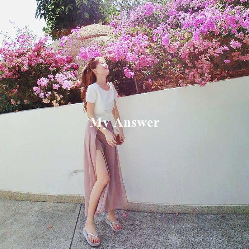 【My Answer】包郵時尚兩件套裝休閑夏季泰國旅游女裝海邊度假沙灘裙超仙女拍照必備