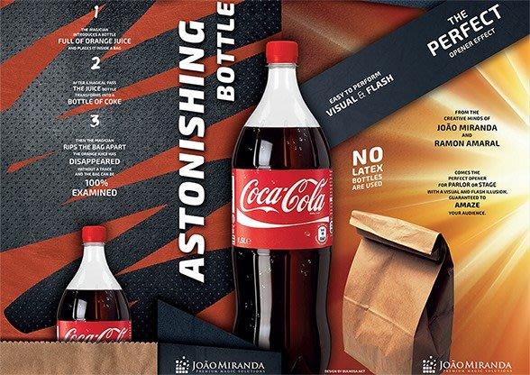 【天天魔法】【S1129】正宗原廠~瓶不見了~Astonishing Bottle by João Miranda