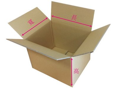 素面紙箱(小)(全新)宅配專用三邊總和60公分