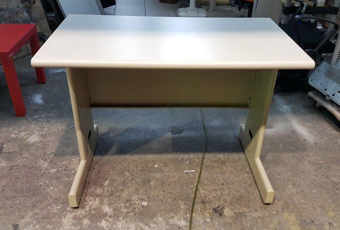 樂居二手家具 C1121IJ 白面辦公桌 OA桌 會議桌 洽談桌 工作桌 電腦桌 辦公家具拍賣 【全新中古傢俱家電賣場】