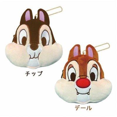 ⭐️日本直送⭐️迪士尼Disney 大鼻鋼牙 chip and dale 公仔 散紙包 散銀包 硬幣包