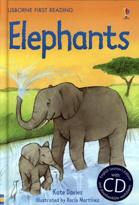 *小貝比的家*ELEPHANTS /精裝+CD/7~12歲