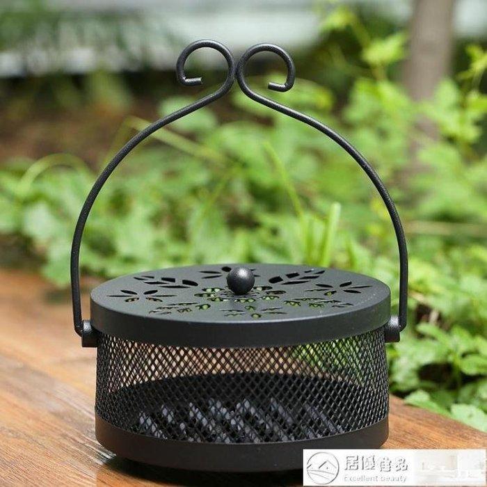 香爐 創意架盤托盒帶蓋防火家用室內爐托盤香爐 限時優惠