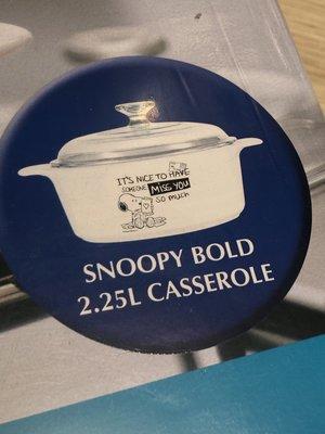 史努比 Snoopy 復刻 黑白圓形 康寧鍋2.25L 台北市