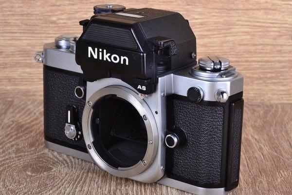 【台中品光攝影】Nikon F2AS F2 AS DP12測光系統 全機械式快門 底片式 單機身 #18258J