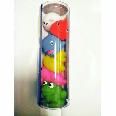 【亮菁菁】小牛津寶寶洗澎澎玩具 洗澡玩具 3種玩法 寶寶歡樂洗澡神器 黃色小鴨 綠色大眼蛙