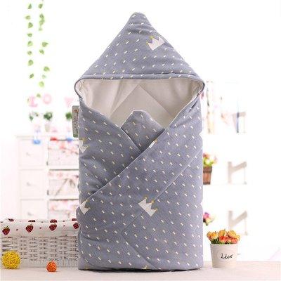 秋季嬰兒抱被純棉春秋款新生兒包被秋冬加厚薄款寶寶抱毯嬰兒用品