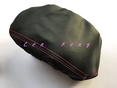 涔峰CF☆(紅線)TOYOTA CAMRY 八代 中央扶手皮套 中央置物皮套 中央扶手保護套 防刮 中央扶手箱皮套