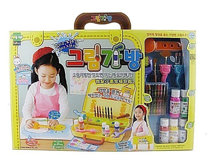 MIMI WORLD 我是小畫家提包組 Painting Playground 韓國精品玩具