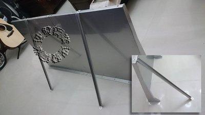 速發~新型第四代防颱風不鏽鋼遮雨板45*150cm~(正白鐵304#)~DIY晴雨棚 窗戶 遮雨棚 冷氣 專用 窗型雨遮