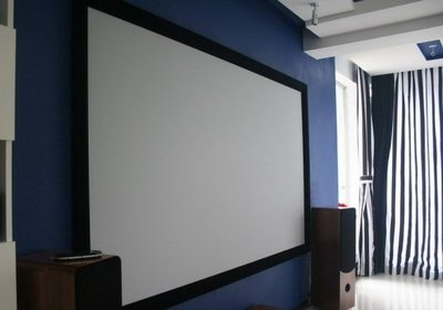 【奇滿來】投影布幕 高畫質 畫框幕 固定框幕  100吋 120吋 150吋 180吋 200吋 250吋 APAG 宜蘭縣