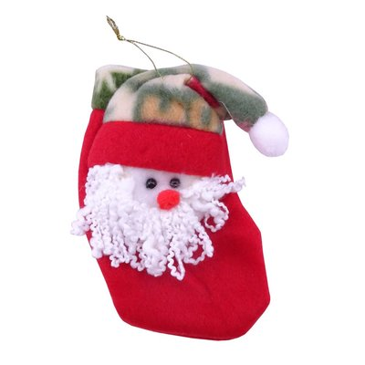 聖誕襪/聖誕節/聖誕裝飾 立體老公公小襪