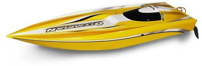 大千遙控模型 雷虎 Thunder Tiger 奧運選手完成船 Olympian 5127-F11Y 黃色