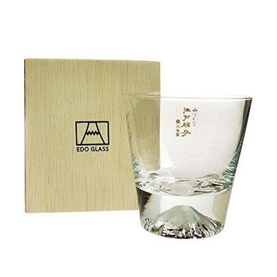 (日本限定) 日本製 TG15-015 田島硝子 矮杯 /富士山 江戶硝子 威士忌杯