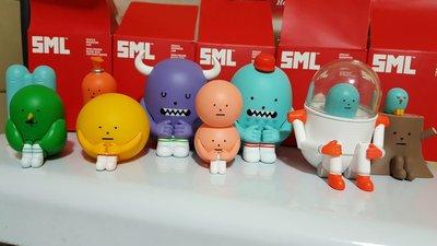 SML 黏黏怪物研究所 sticky monster lab 坐坐系列 盒抽/盲抽/盒玩/公仔