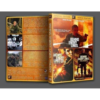 「深入敵后合集」含花絮+導評.盒裝高清DVD碟片.3碟