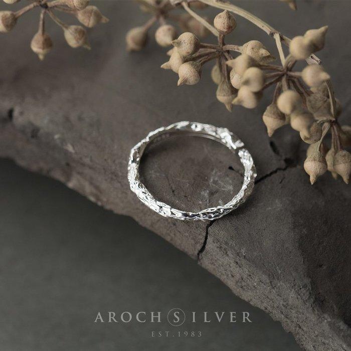 戒指 銀飾 情侶戒 婚戒 925銀韓版時尚復古樹枝戒指指環簡約文藝樹干開口手飾品