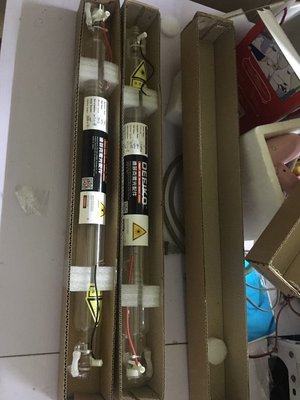 CO2雷射管 50w雷射管.雷射器. 雷射切割機雕刻機配件