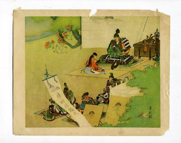 【藏家釋出】早期收藏 ◎ 大正昭和年間《曾我兄弟》浮世老印物