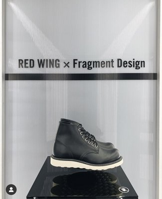 red wing x fragment 圓頭 10 1/2 D 藤原浩