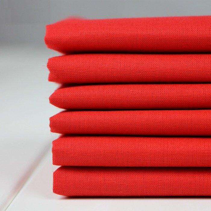 爆款--紅布料 純棉喜事抓周綢緞布大紅色紅棉布絲綢紅綢布佛布 紅布布料#布料#綢緞#冰絲#絨布