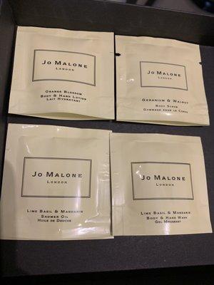 美代小舖 現貨 JO MALONE 7ML 試用包 乳霜 沐浴精油 沐浴精 羅勒/牡丹/杏桃花/海鹽/青檸