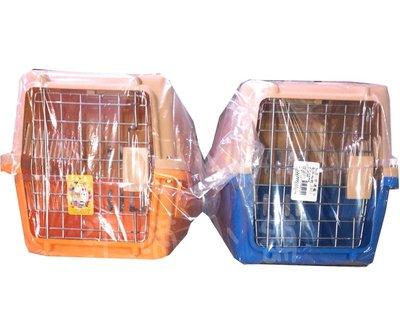 ☆汪喵小舖2店☆ JL 雙色寵物運輸籠、拖運籠-小 // 適合小型犬 48x32x高30公分