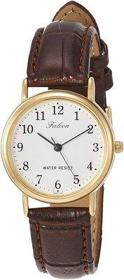 日本正版 CITIZEN 星辰 Q&Q Q997-104 腕錶 女錶 女用 手錶 皮革錶帶 日本代購