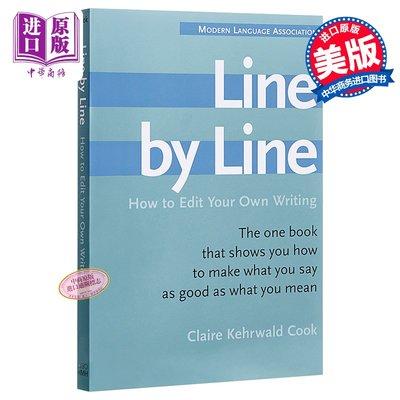 一行行:如何編輯你寫的文章 英文原版 Line by Line: How to Edit Your Own Writin