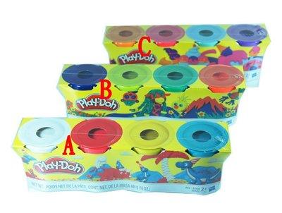 培樂多黏土 補充罐4瓶一組 新包裝無指定 隨機出貨 原價129元 永和小人國玩具店