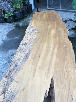 【 檜人檜語 】超自然風化 銀河系烏心石 原木板材7