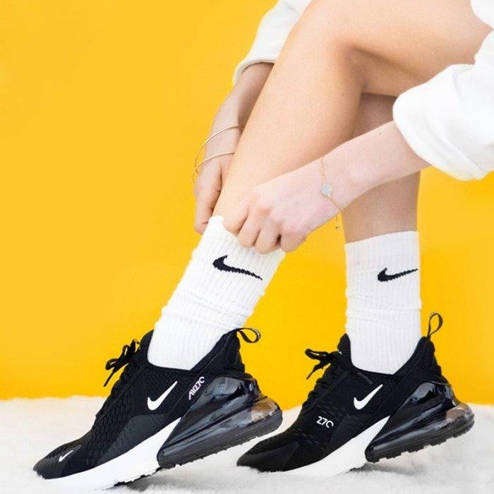 南◇2020 5月 NIKE W AIR MAX 270 黑色白色 休閒 氣墊 黑白 慢跑鞋 女鞋 AH6789-001