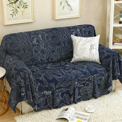 SUNNY雜貨-沙發巾全蓋布沙發墊沙發套罩美式簡約ins葉子四季通用可定制#防塵罩#家居用品