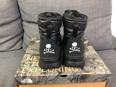 全新~The north Face x Mastermind japan MMJ TNF 雪靴 ~size:9