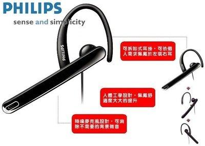 飛利浦 PHILIPS 耳麥 SHM2100U 單聲道 耳掛式 電腦耳機,單邊 左右耳 掛耳 可分離耳鈎 耳塞,近全新