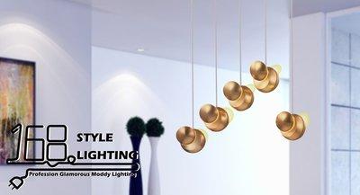 【168 Lighting】電鍍時尚《LED吊燈》(兩款)小款DX 81422-3
