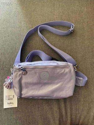 凱莉代購 Kipling 金屬紫 k15187 胸包 斜背包 腰包 預購