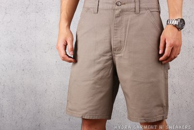【HYDRA】CARHARTT B25 WASHED DUCK WORK SHORT 工作短褲 卡其 沙【B25DES】