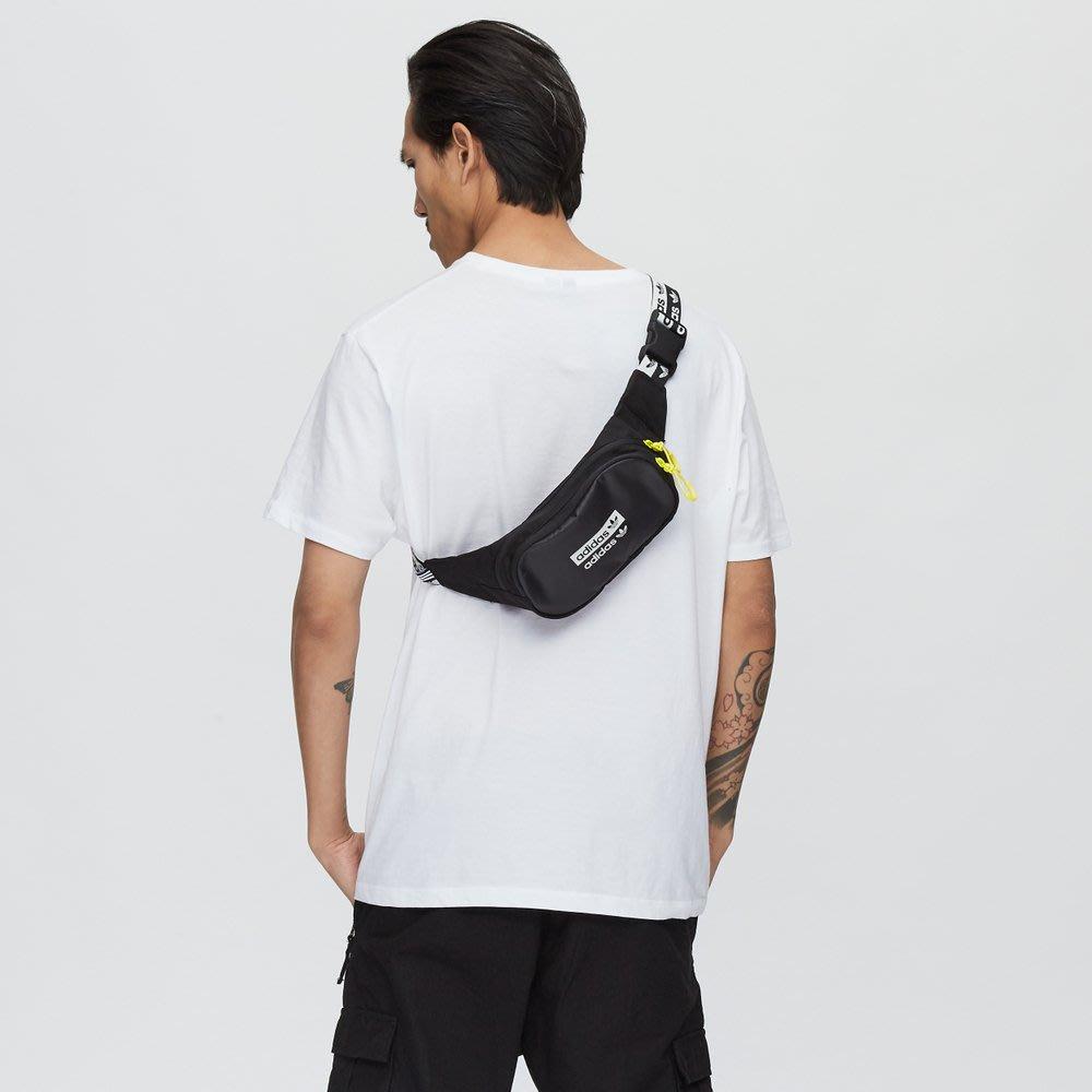 solicitud mínimo propiedad  adidas RYV FM1296 黑色印花LOGO 撞色腰包小包| Yahoo奇摩拍賣