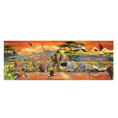 【晴晴百寶盒】美國進口 地板拼圖-非洲 Melissa&Doug扮演角系列手眼協調 生日禮物家家酒益智遊戲玩具W650