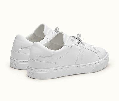 [預購]Hermes Day Kelly Sneaker 愛馬仕年度最難買 球鞋 白金釦 銀釦 運動鞋 小白鞋