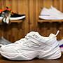 Nike Air M2K Tekno 耐克 全白 百搭 經典 休閒運動慢跑鞋 AV4789 101 男女