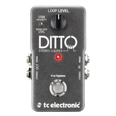 ☆ 唐尼樂器︵☆ TC Electronic Ditto Stereo Looper 單顆 效果器