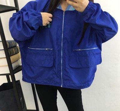 ZIHOPE 春季女裝韓國風薄款寬鬆外套春秋學生休閒棒球服潮ZI812