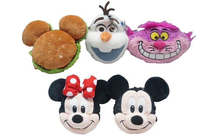 佳佳玩具 ----- 日本 迪士尼限定 大臉票卡夾 米奇 漢堡 米妮 雪寶 妙妙貓 可伸縮 多款【1239102】