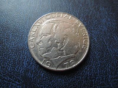 【寶家】Numista 硬幣  1978年 瑞典 1 克朗 - 卡爾十六世古斯塔夫[品項如圖]保真@553