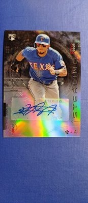 Rougned Odor 2014 Bowman Sterling RC Auto 限量150張新人簽