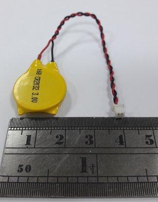 ACER ASUS 3V CR2032 帶線電池 鈕扣電池 BIOS 主機板 電池 CMOS沒電 時間跑掉 無法記憶
